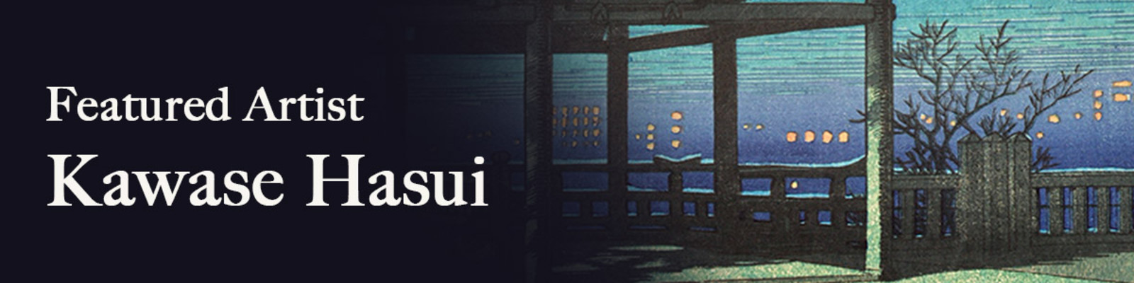 Featured Artist: Hasui